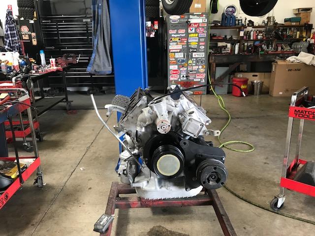 Mercedes-Benz 450SL Engine Restoration